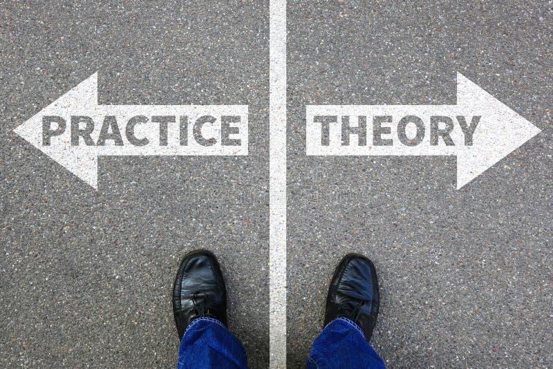 Teoria e settore dell'istruzione di pratica che impara busine di successo fotografia stock libera da diritti