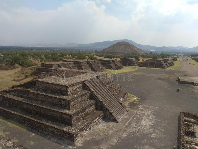 teotihuacan obrazy royalty free