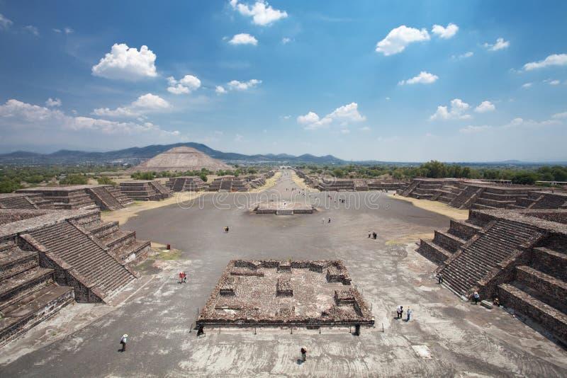 Teotihuacan imagem de stock