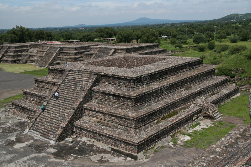 Teotihuacan image stock