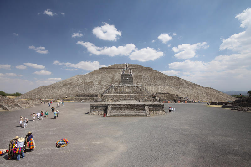 Download Teotihuacan stock image. Image of pyramid, america, toltec - 19422523