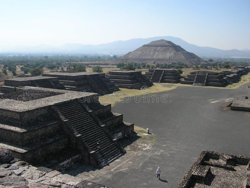 teotihuacan royaltyfri foto