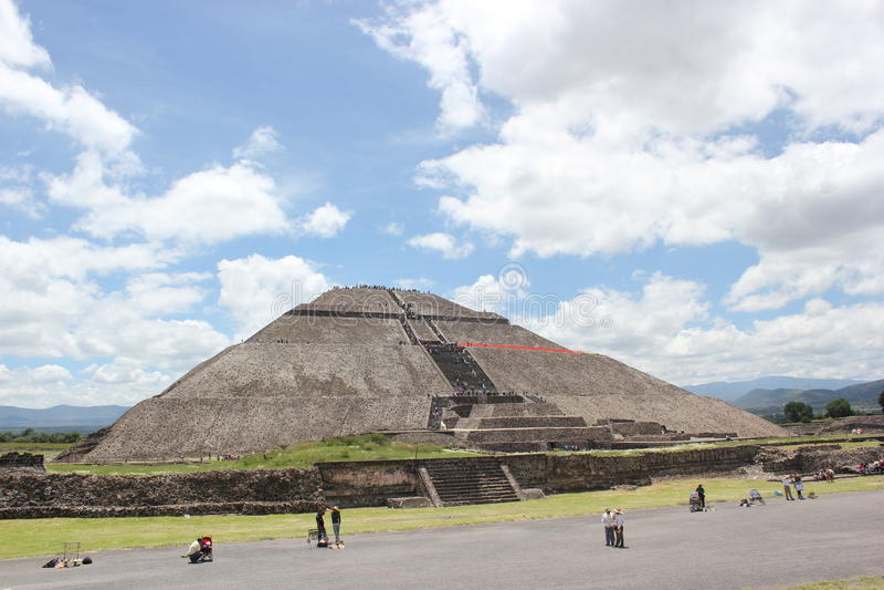 Teotihuacan 4 arkivbild