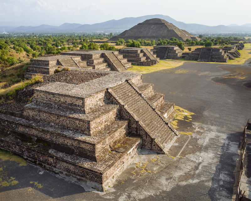 teotihuacan arkivfoto