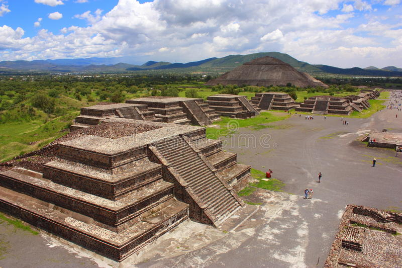 Teotihuacan II fotografia stock libera da diritti