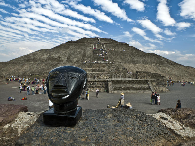 Teotihuacan México fotografía de archivo