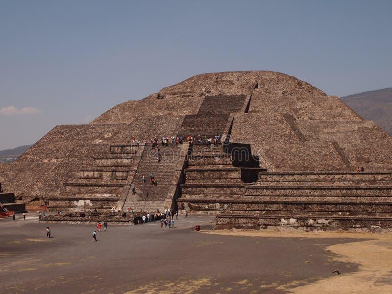 Teotihuacan, México, una civilización precolombina antigua que precedió la cultura azteca imagen de archivo
