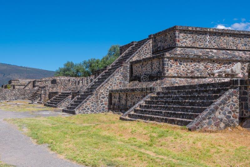 Teotihuacan Mexique photos libres de droits