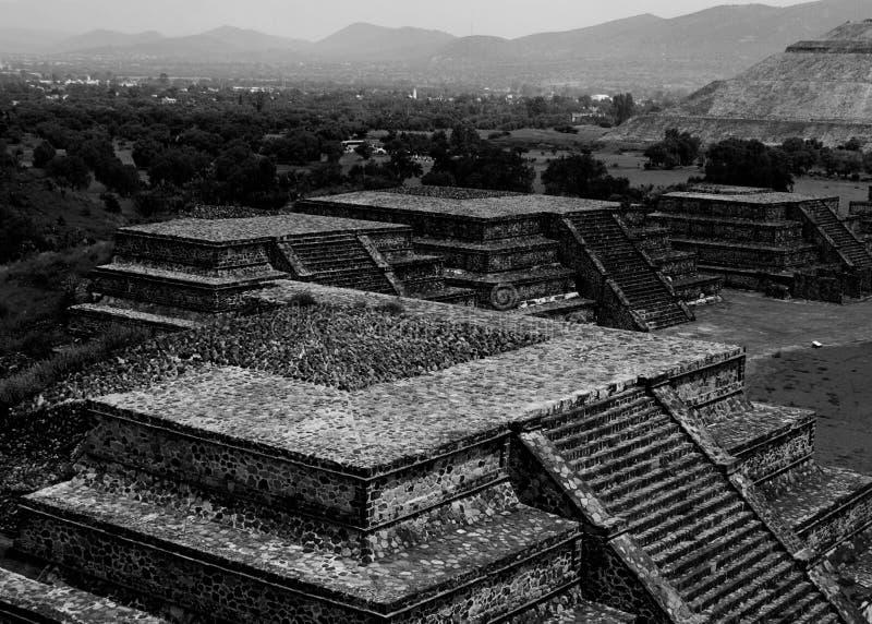 Teotihuacan pyramid at Mexico City stock photos