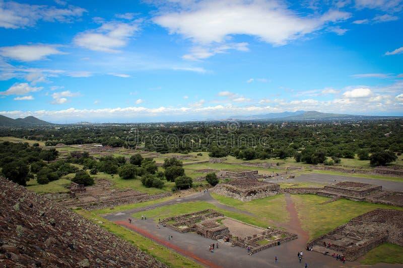 Teotihuakan, México imagem de stock royalty free