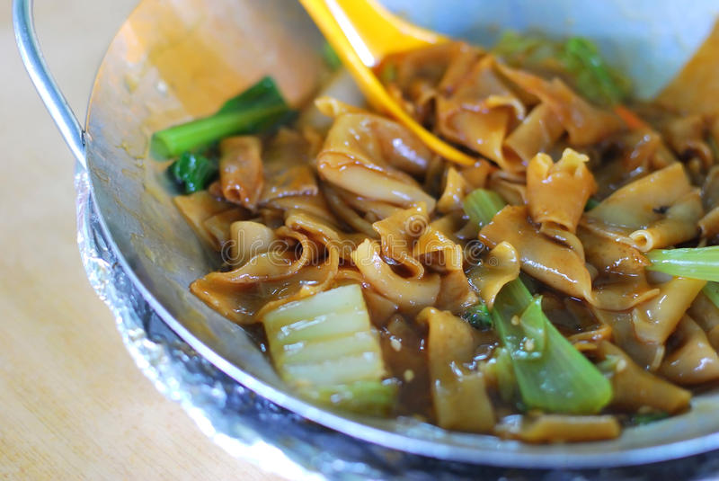 Teow kway cinese immagine stock