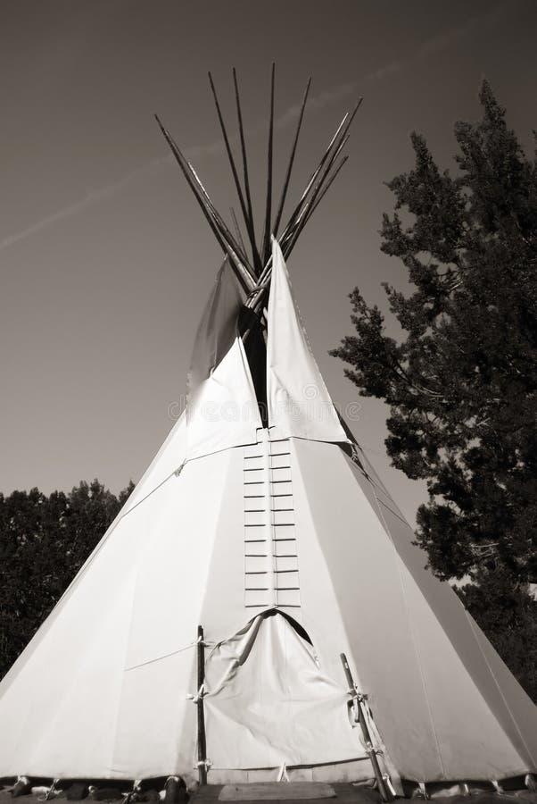 tepee indiano della tenda fotografia stock