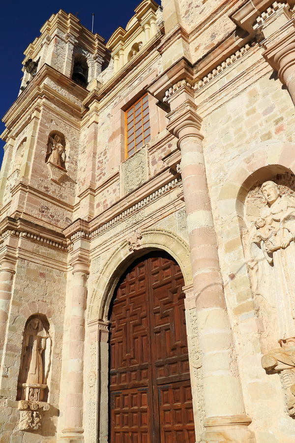 Teposcolula II. Convent of san pedro y san pablo. Teposcolula, mexican state of oaxaca royalty free stock photos