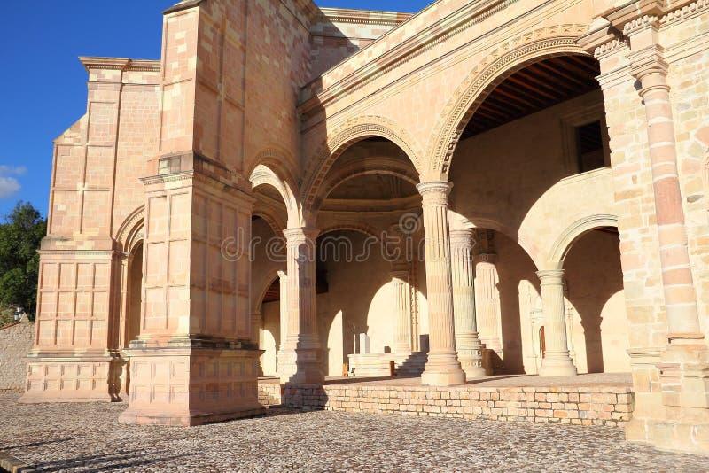 Teposcolula III. Convent of san pedro y san pablo. Teposcolula, mexican state of oaxaca royalty free stock photos