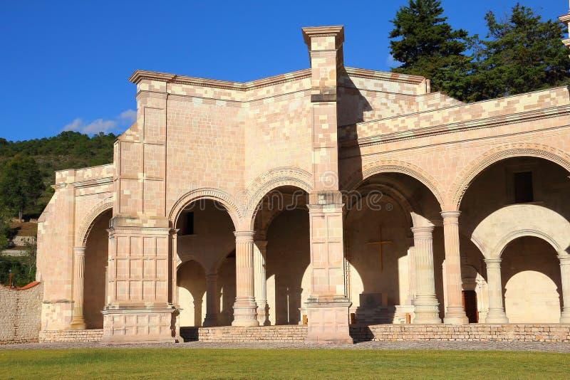 Teposcolula IV. Convent of san pedro y san pablo. Teposcolula, mexican state of oaxaca royalty free stock image