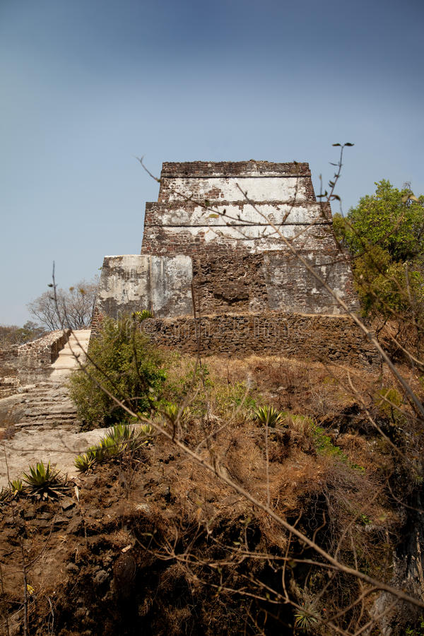 Download Tepozteco Pyramid stock image. Image of ruins, archaelogical - 18986203