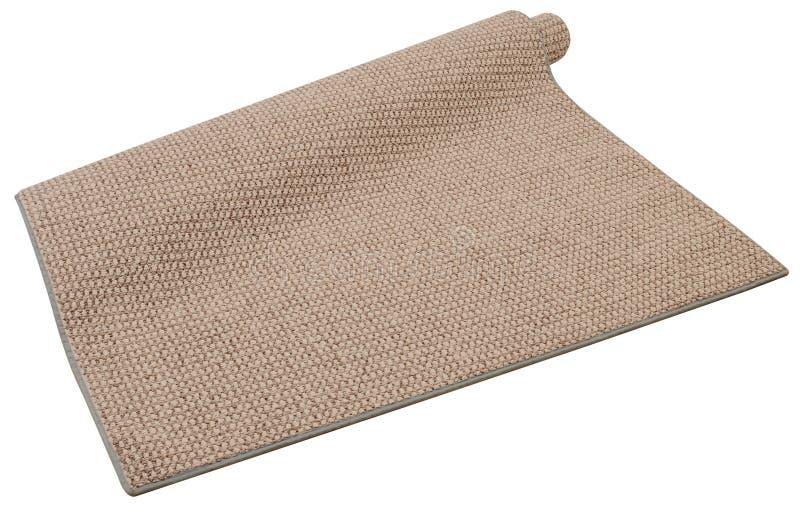 Teppich. Getrennt lizenzfreies stockbild