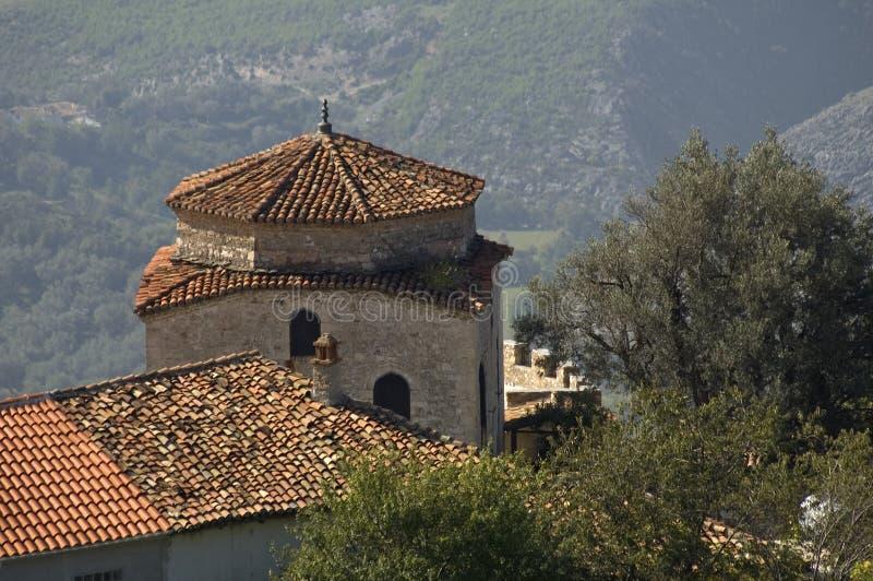 Teqe de Dollma, Kruja, Albânia fotografia de stock