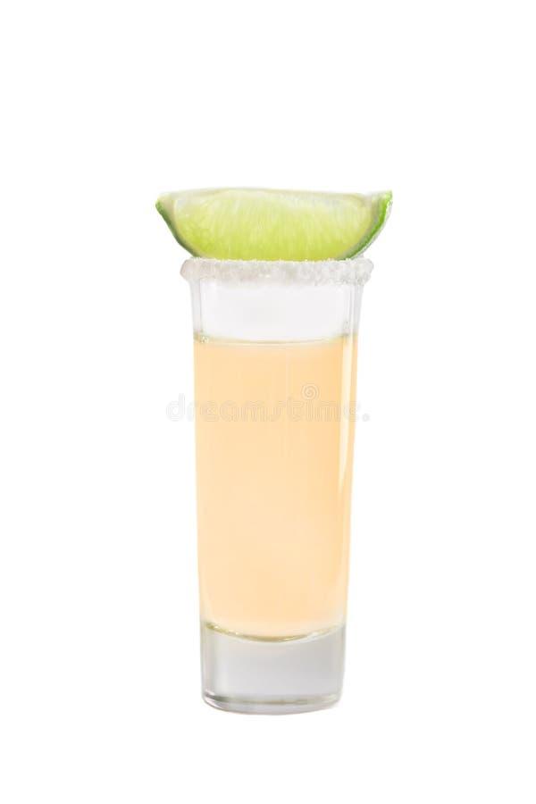 tequila съемки известки стоковое фото rf