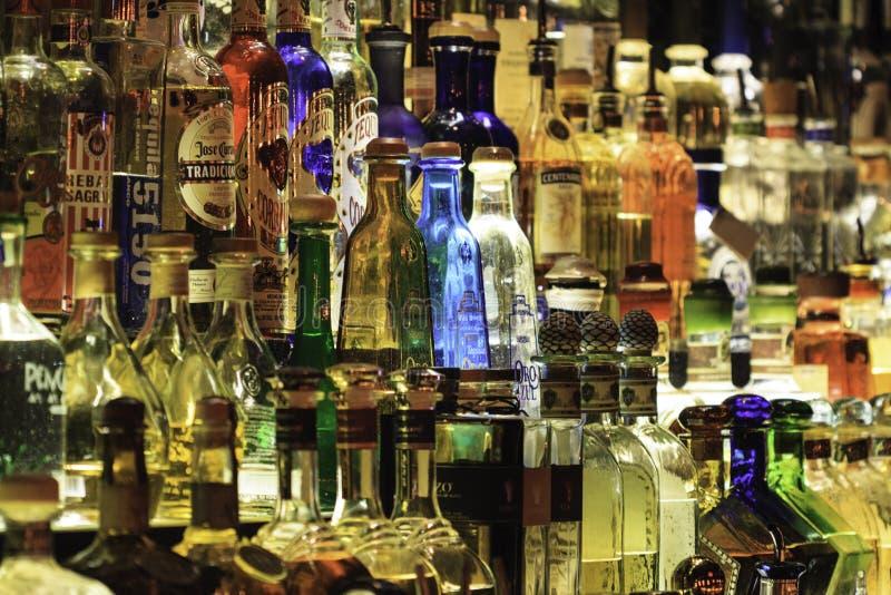 Tequila Bar stock photo