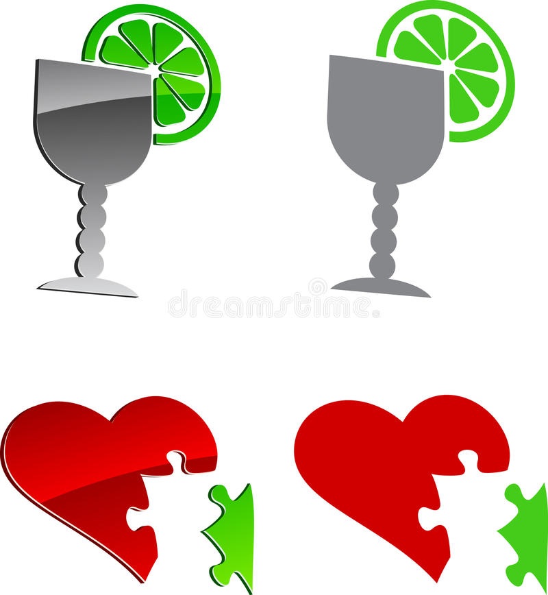 Download Tequila and cardio. stock vector. Image of grey, modern - 11972091