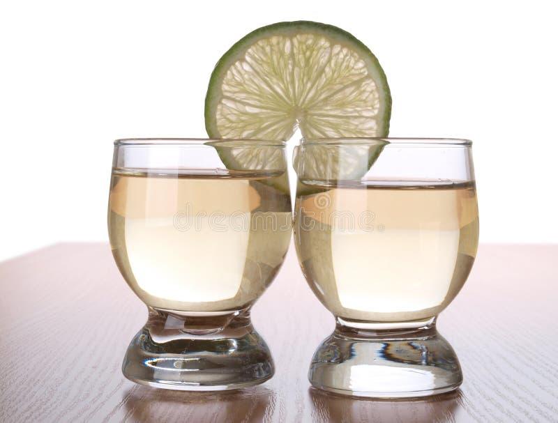 Tequila för två arkivbilder