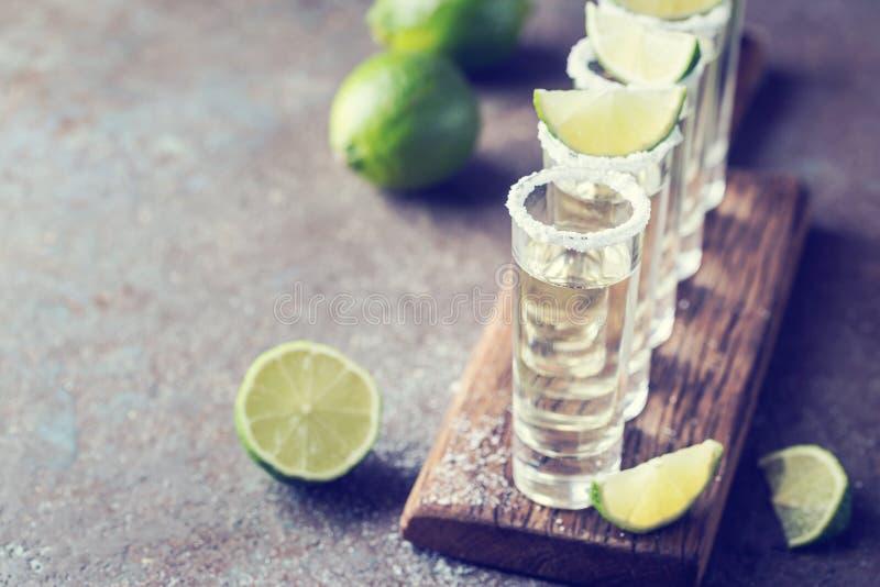 Tequila mexicaine d'or photo libre de droits