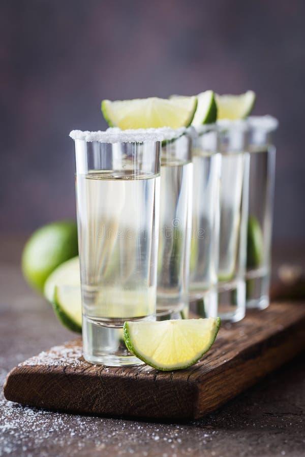 Tequila mexicaine d'or image libre de droits