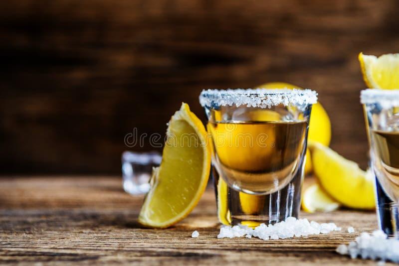 Tequila mexicaine de boissons d'alcool photographie stock libre de droits