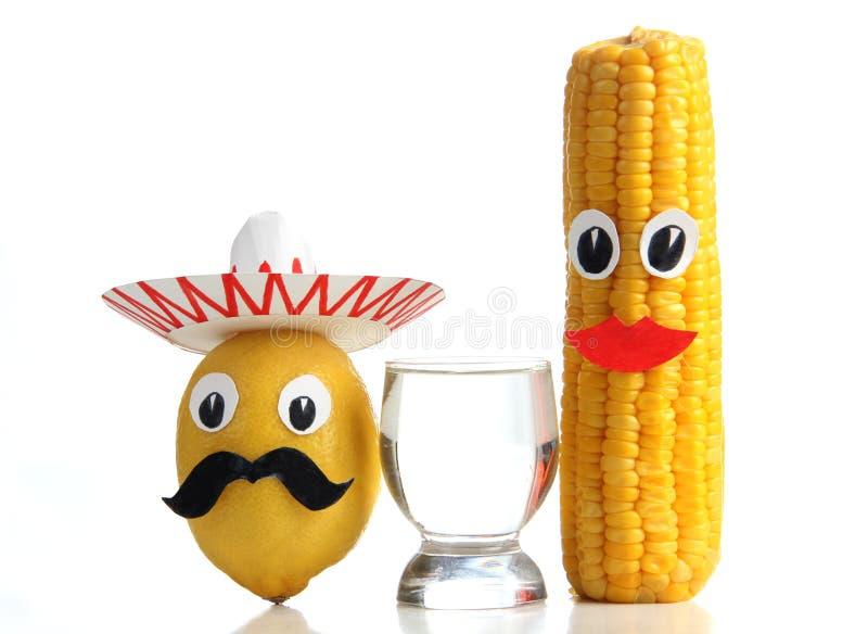 Tequila mexicano fotos de archivo