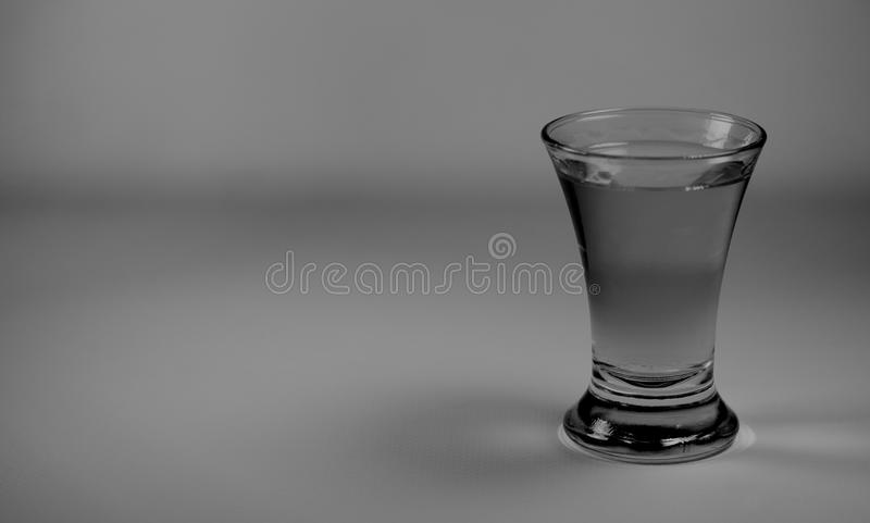 Tequila shot glass royalty free stock photo