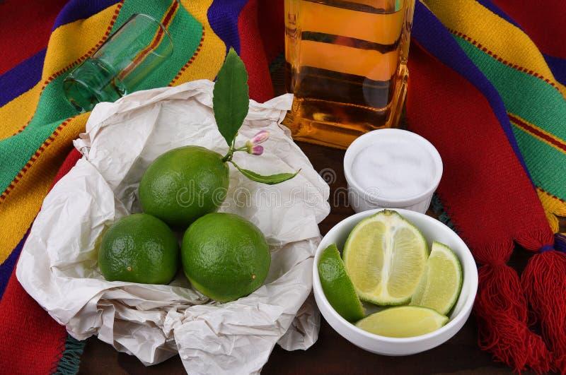 Tequila strzał fotografia stock