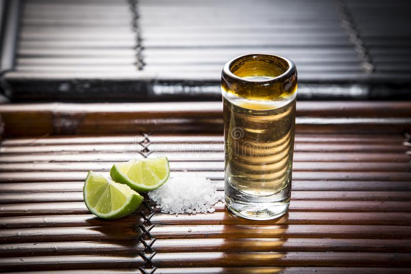 Tequila strzał obrazy stock