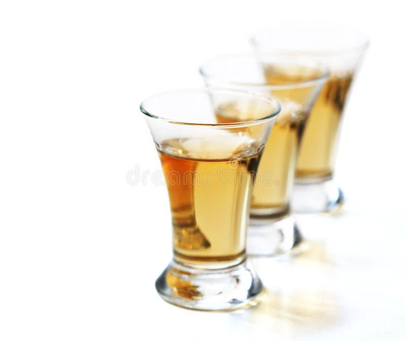 Tequila strzały zdjęcie royalty free