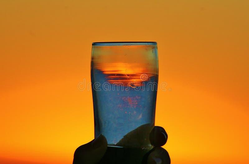Tequila Sunrise stock image