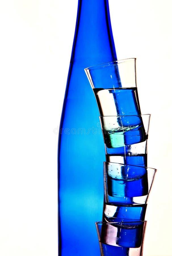 Tequilacocktail van de alcoholische drankzomer stock afbeelding