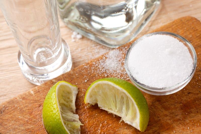 Tequilagetränk stockfotografie