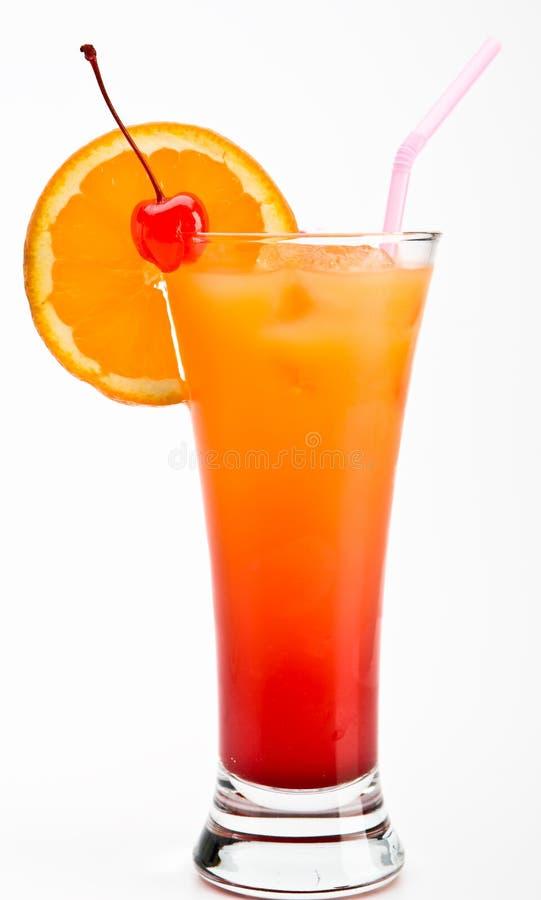 Tequilasonnenaufgang Cocktail stockfoto