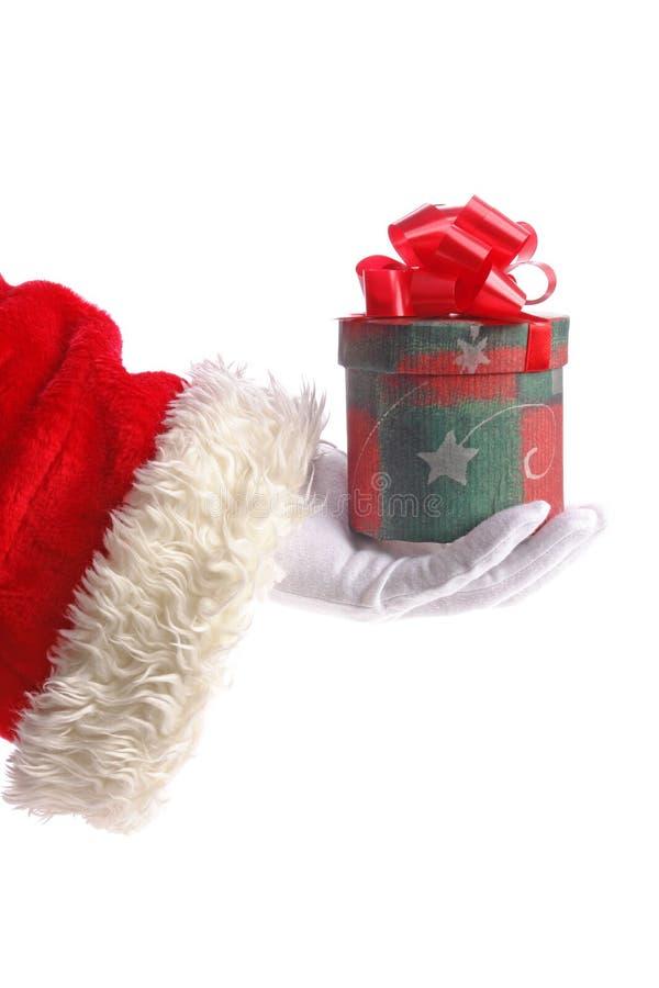 teraźniejszy Santa zdjęcie royalty free