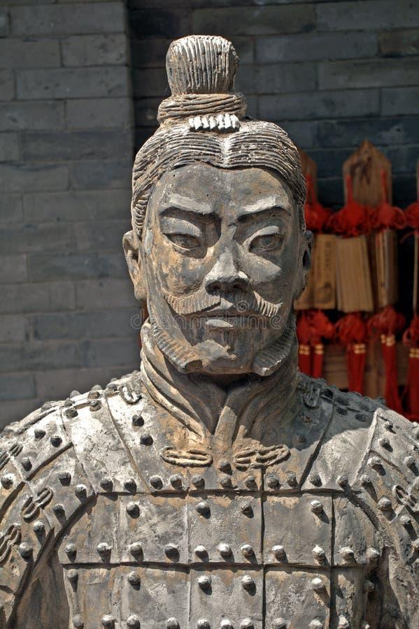 Terakotowy wojownik, Juyongguan, Chiny zdjęcia stock