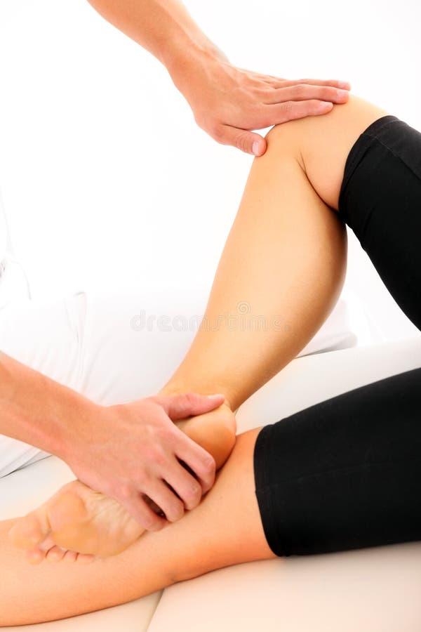 Terapia del piede fotografie stock