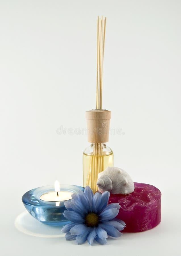 Terapia dell'aroma immagini stock