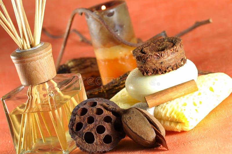 Terapia dell'aroma fotografia stock