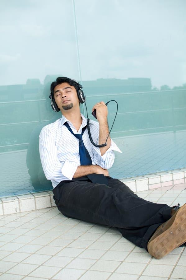 Terapia di musica immagine stock libera da diritti