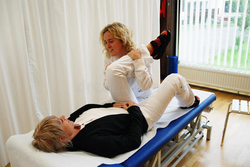 Terapia física foto de stock