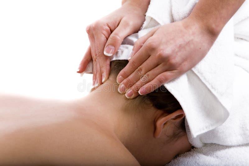 terapia masaż. zdjęcie stock