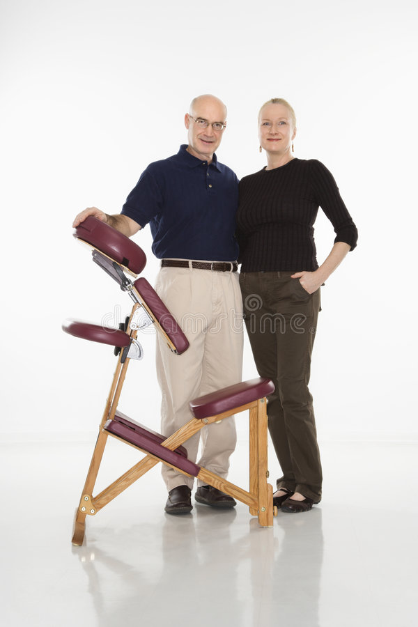 Terapisti di massaggio. immagine stock libera da diritti