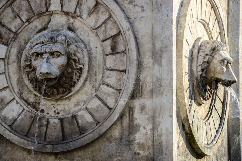 Terazije fountain in Belgrade Serbia royalty free stock photo
