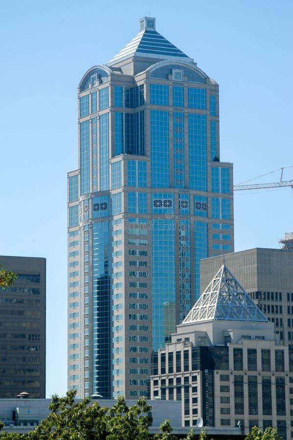 Terceira torre da avenida - Seattle, Washington imagens de stock