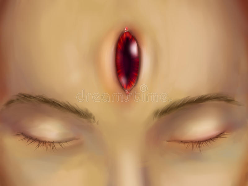 Tercer ojo - mal libre illustration